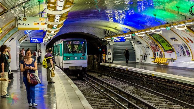 paris metro kullanımı, metro biletleri, haritası