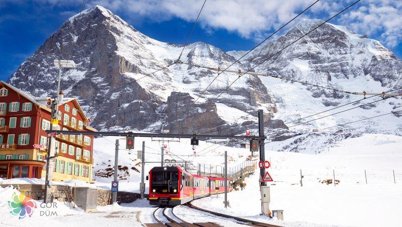 Kleine-Scheidegg-Jungfraujoch-tren
