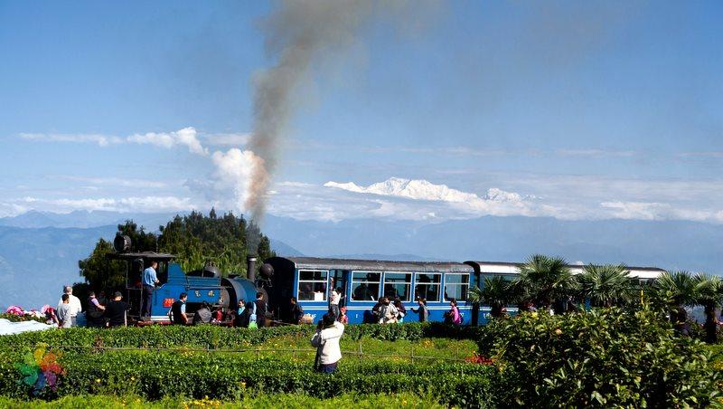 New-Jalpaiguri- Darjeeling-tren