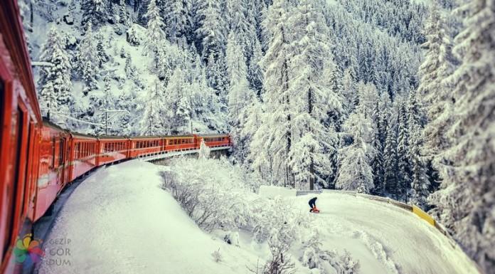 Dünyadaki En Güzel 12 Tren Seyahati