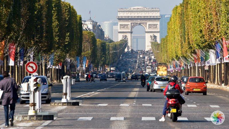 Paris gezilecek yerler, Şanzelize Caddesi