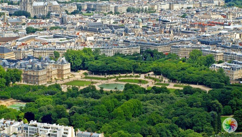 Paris gezilecek yerler, Lüksemburg Bahçesi