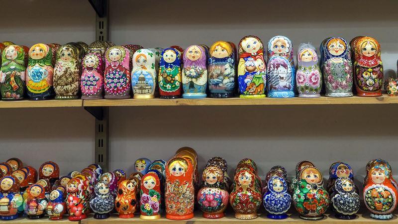 Kiev alışveriş matruşka