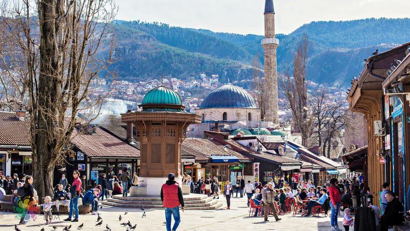 Başçarşı Saraybosna tatili