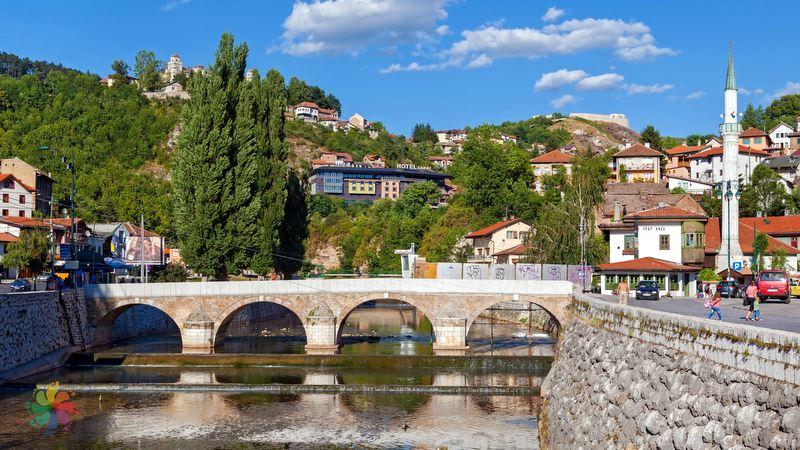 Latin Köprüsü, Saraybosna turu