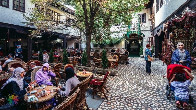Morica Han Saraybosna'da görülecek yerler