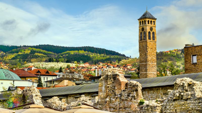 Saat Kulesi, Saraybosna yolcusu