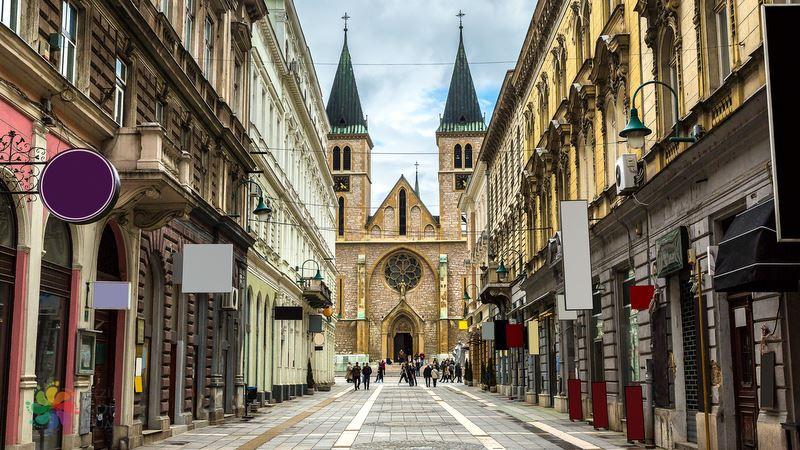 Saraybosna gezilecek yerler, Saraybosna katedrali
