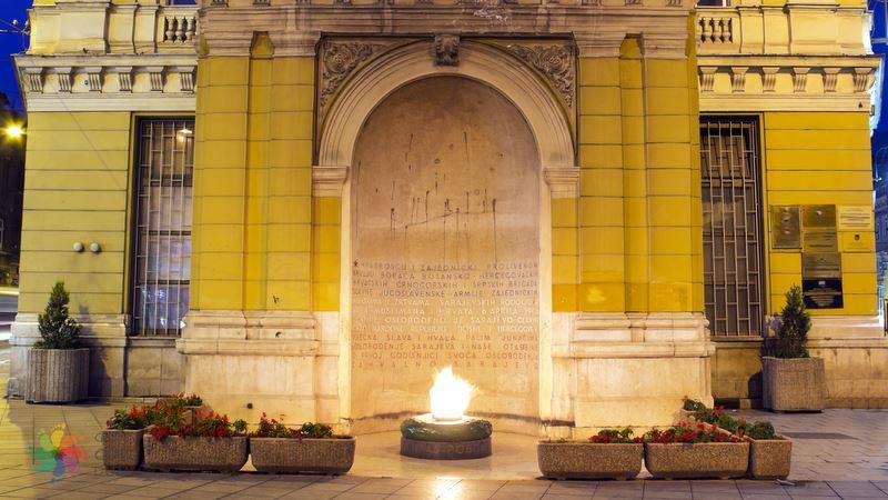Sonsuz Ateş Saraybosna gezilecek yerler