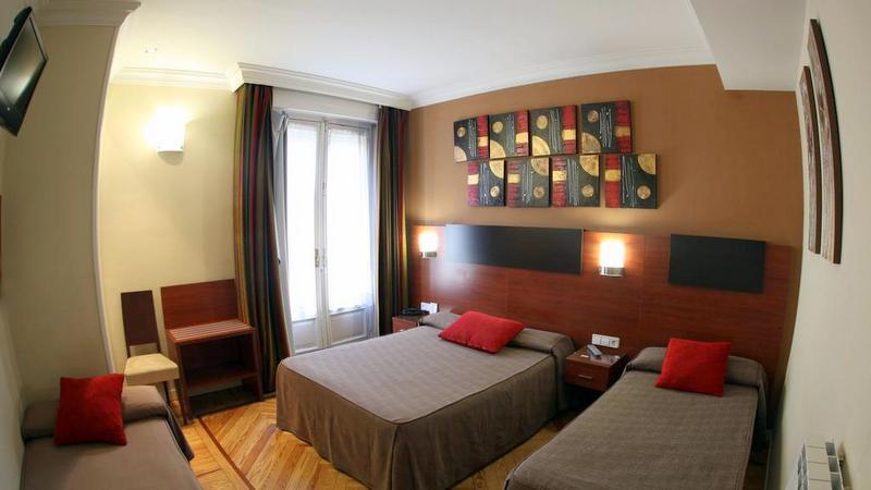 Hostal Abadia Madrid ucuz otel