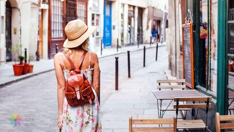 Paris şehir içi ulaşım yürüme