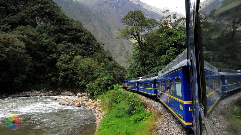 Cuzco-Aguas Calientes-tren