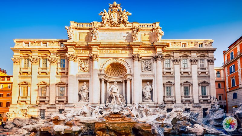 Roma gezilecek yerler, Trevi Çeşmesi (Roma Aşk Çeşmesi)