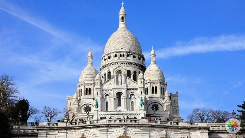 Paris gezilecek yerler, Sacre Coeur Bazilikası