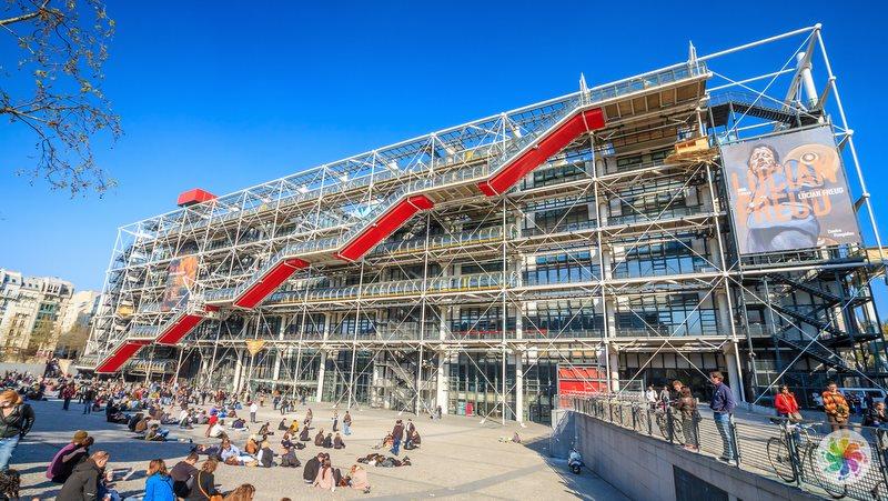 Paris gezilecek yerler, Pompidou Merkezi
