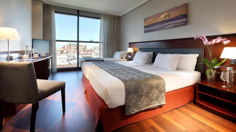 madrid otel tavsiyesi hotel via castellana