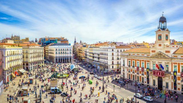Madrid Sol Alanı ile ilgili bilgi ve fotoğraflar